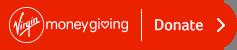 Make a donation using Virgin Money Giving